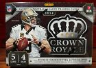 2014 Panini Crown Royale Football Factory Sealed Hobby Box