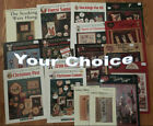CHRISTMAS, SANTA, WINTER, SNOWMAN counted cross stitch charts-YOUR CHOICE