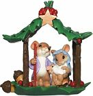 CHARMING TAILS Mouse Figurine HOLY FAMILY Mice Statue Holiday Christmas NATIVITY