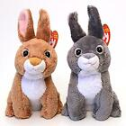 Fields and Orchard Easter Bunnies Ty Beanie Babies Set of 2 MWMT Retired Plush