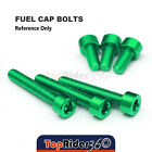 Billet Fuel Tank Cap Bolts For Kawasaki Ninja 650R/ER-6F 06-07 Z1000 2003-2006
