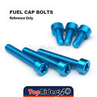 Billet Fuel Tank Cap Bolts For Suzuki GSX 1300R Hayabusa  99-07 GS600F 2000-2001