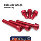 Billet Fuel Tank Cap Bolts For MV Agusta F4 R 312  08 BRUTALE 750 All Year