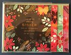 Paper Destiny CHRISTMAS Card For Sister Layered Booklet Beautiful