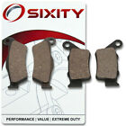 Front + Rear Ceramic Brake Pads 2003-2004 Vertemati E 450 501 570 Enduro Set id