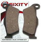 Front Ceramic Brake Pads 2004 ATK 620 Intimidator Set Full Kit 2T Complete tq