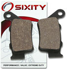 Rear Ceramic Brake Pads 2007 Ducati Sport 1000 Monoposto Set Full Kit Japan tm
