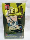 1995 Topps Dimension III Factory-Sealed Trading Card Box, 3-D Lenticular Cards!
