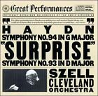 Cleveland Orchestra : Symphonies 93 & 94