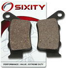Rear Organic Brake Pads 2003-2004 Vertemati E 450 501 570 Enduro Set Full vr