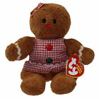 TY Beanie Baby - GRETEL the Gingerbread Girl (7.5 inch) Rare! -MWMTs Stuffed Toy