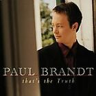 That's the Truth [Single] by Paul Brandt (CD, Apr-1999, Warner Bros.)