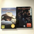 Yellowstone Season 1 2 DVD9 Disc Set One Two Brand New Collection