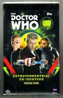 DR DOCTOR WHO TOPPS FACTORY SEALED HOBBY BOX EXTRATERRESTRIAL ENCOUNTERS