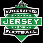 2019 LEAF AUTOGRAPHED FOOTBALL JERSEY EDITION 10 BOX CASE
