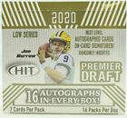 2020 SAGE HIT PREMIER DRAFT LOW SERIES FOOTBALL HOBBY BOX 16 AUTOS PER BURROWS?