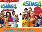 The Sims 4 + Cats  Dogs Bundle Digital Download Account PC MAC
