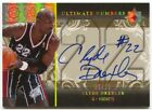 06-07 Ultimate Collection Clyde Drexler Autograph Numbers Auto # 22