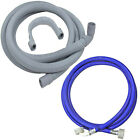 Washing Machine Dishwasher Fill + Drain Hose for WHIRLPOOL SMEG KENWOOD CREDA