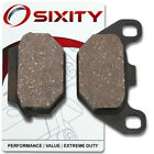 Rear Organic Brake Pads 2007-2009 KYMCO Super 9 Set Full Kit 2T AC Complete db