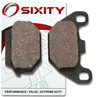 Rear Organic Brake Pads 2002-2005 KYMCO Super 9 Set Full Kit 2T AC Complete jk