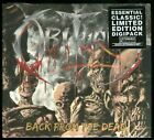 Obituary Back From The Dead CD 2018 reissue digipack new