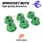 Wheel Sprocket Nuts M10 For Kawasaki Versys 1000 KLZ 2012+ KR1-KR1S 250