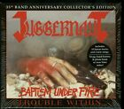 Juggernaut Baptism Under Fire +Trouble From Within CD Box set new