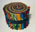 Batik Jelly Roll 18 25 strips 100 Quilting Cotton