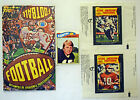 1977 Topps Mexican Football Display Box, Card & 5 different wrappers Ex+ 596011