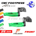For Honda CBF500 04-10 05 06 07 08 09 10 25mm Riser CNC Billet Front Footpegs