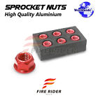 Wheel Sprocket Nuts M10 For Ducati Paul Smart 1000 LE 2006 Sportclassic GT1000
