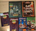 Collection of 6 SPOOKY TOWN HALLOWEEN VILLAGE Michael's Store Brochure Catalogs