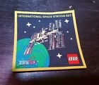 Lego ISS International Space Station Patch