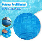 6Ft Round 400 Micron Swimming Pool Hot Tub Cover Solar Blanket Retention NEW