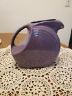 Fiesta Fiestaware Lilac Purple Pitcher  Limited Edition Retired Large Disc RARE