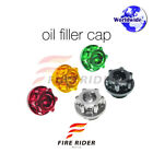 CNC Engine Oil Filler Cap Plugs For Kawasaki ZX-9R Ninja 1994-2003  94 95