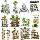 UNHO Professional Plant Stand Supplier Multi Tier Flower Rack for