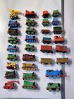 Huge Lot Of 32 pieces of Thomas  Friends Mostly die cast trainsLots See Pics