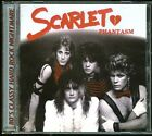 Scarlet Phantasm CD new reissue 1985 hair metal glam indie