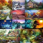 Full Drill Landscape Art 5D Diamond Painting Cross Stitch Embroidery Decor Kits