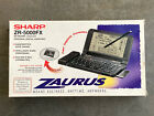 Vintage 1995 Sharp ZR-5000FX Personal Digital Assistant PDA with Fax and E-Mail