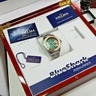 Delma Santiago Blue Shark Automatik Taucheruhr Limited Edition Box Papiere