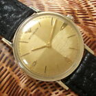 Mens Original 1960s Longines WITTNAUER Two-Tone QUAD Dial 10K Gold Filled Watch