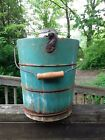 Vintage 1923 Wood Bucket White Mountain Freezer Ice cream maker