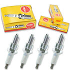 4pcs 10-11 Big Dog K-9 EFI NGK Standard Spark Plugs S&S ENGINE 107 CU IN Kit lt