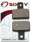 Rear Organic Brake Pads 2005 Gas Gas Enducross EC Boy 50 Set Full Kit LC jv