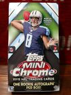 2015 Topps Chrome Mini Football Factory Sealed Hobby Box