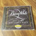 NEW Barry White All Time Greatest Hits CD Sexy Funk 1994 Mercury Record OOP crc