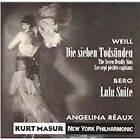 Masur : Weill/Berg;Seven Deadly Sin CD Highly Rated eBay Seller Great Prices